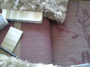 tapéták, festék, szőnyeminták